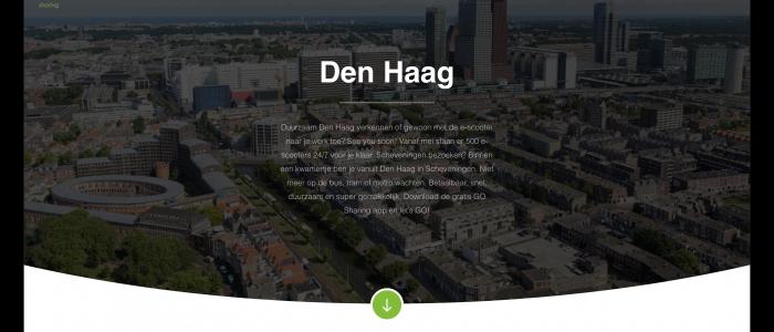 Go Sharing Den Haag lijkt er te komen: stad verschijnt op website