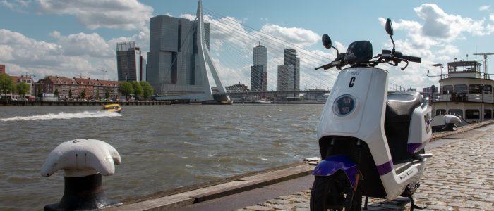 Check deze zomer in Breda en Den Haag, aantal scooters in Rotterdam verdubbelt