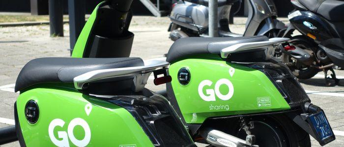 GO Sharing Haarlem nu beschikbaar, 100 scooters in de stad om transport duurzamer te maken