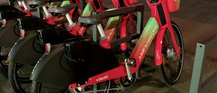 Jump fietsen terug in Rotterdam onder naam van Lime