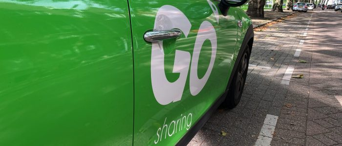 GO Sharing lanceert binnen enkele maanden deelauto